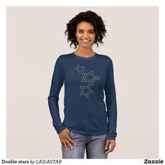 Double stars long sleeve T-Shirt