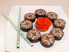 «   Суши — монета   » Japanese Sushi, Blog, Blogging