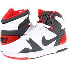 237c2de25b86 Nike mach force mid white challenge red black dark grey
