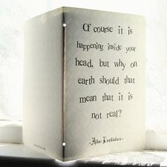 RESERVED for JEN  Albus Dumbledore Journal  Inside by literaryluxe