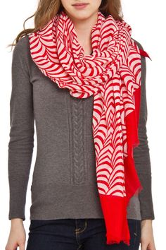 Create a soft and elegant finish with lightweight wrap featuring a mix of circle.    Wrap measures approximately 40 inches by 70 inches   Circle Lightweight Scarf by Violet Del Mar. Accessories - Scarves & Wraps San Diego, California