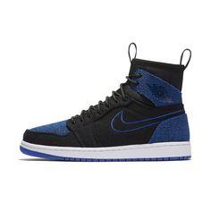 Air Jordan 1 Retro Ultra High Mens Shoe By Nike Size 115 Black