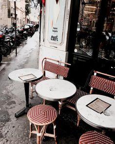 Bonjour mon amour  [ you are irresistible ]  Parisian cafè at Le Marais  #ThisisParis #parisienne