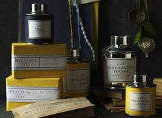 No. 35, The Earl Grey | BELLOCQ.  Pretty tea containers.  bellocq.com