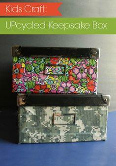 Back To School Keepsake Box - Kids Craft Tutorial