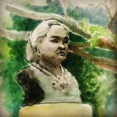 Parung Dewi Sartika di halaman Balai Kota Bandung#art #drawing #painting #sketch #sketchwalker #urbansketch #dewisartika #sculpture #balaikotabandung #teddykw #citygarden #instaart #instagood #bsw54 #bandungsketchwalk Insta Art, Sketch, Urban, Watercolor, Sculpture, Drawings, Painting, Sketch Drawing, Sketches