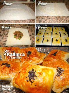 Hazır Yufkadan Kolay Talaş Böreği Tarifi