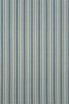 Use as stair runner with Benjamin Moore Yarmouth blue (hc-150) on walls #DashAndAlbert Gunnison Indoor/Outdoor Rug