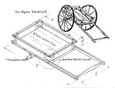 Hand Cart Plans