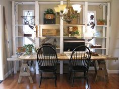 Salvaged Home Office