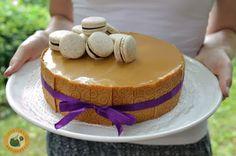 Praliné Paradicsom: Diós-barackos vaníliahab-torta