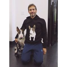Marc Jacobs and his dog = LOVE