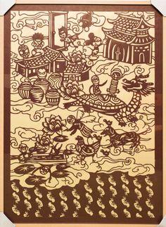 Paper cut by chiu xiao li