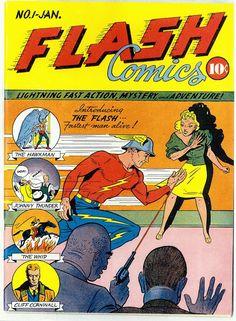 Flash (1940) - Gardner Fox