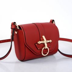 0e32a321f3 www.givenchyshops.com Givenchy Obsedia Leather Shoulder Bag Red  givenchy   Obsedia