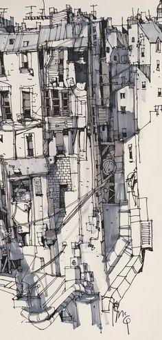 Ian McQue Sketch