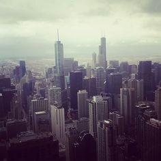 Hazy Chicago