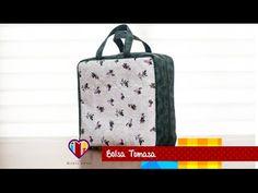 Bolsa mala de tecido Tomasa - Maria Adna Ateliê - Cursos, aulas e vendas de bolsas de tecido - YouTube