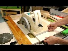 Homemade table saw, part 1 - YouTube