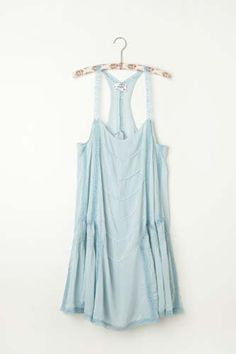 piecing the fabric gives this slip from Free People the look of vintage 1920's lingerie