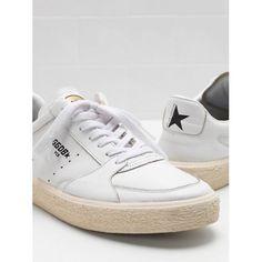 Golden Goose Sneakers Outlet - 2017 Golden Goose Muškarci TENTHSTAR Bijela  Zlato Sneakers G31MS715.A1 89387b9957