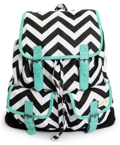 chevron back pack adorable