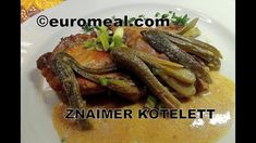 Znaimer Kotelett - euromeal.com Chicken, Meat, Food, Eating Well, Easy Meals, Food Food, Cooking, Eten, Meals