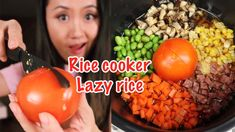 Rice Cooker Recipes, Rice Recipes, Dinner Recipes, Cooking Recipes, Asian Chicken Recipes, Asian Recipes, Chinese Recipes, Chinese Food, Lunches