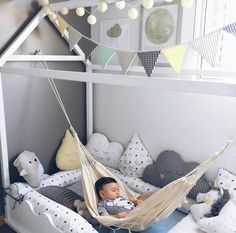 Wonderful Scandinavian Kids Bedroom Design To Make Your Daughter Happy. If you are looking for Scandinavian Kids Bedroom Design To Make Your Daughter Happy, You come to the right place. Baby Bedroom, Kids Bedroom, Bedroom Ideas, Bedroom Decor, Room Baby, Dream Bedroom, Nursery Ideas, Ideas Decorar Habitacion, Room Hammock
