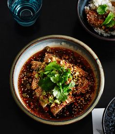 White-cut chicken, aromatic chilli oil and peanuts recipe, Victor Liong, Lee Ho Fook, Melbourne :: Gourmet Traveller Chef Recipes, Asian Recipes, Ethnic Recipes, Healthy Recipes, Small Food Processor, Food Processor Recipes, Pineapple Desserts, Chinese Chicken Recipes, Poached Chicken