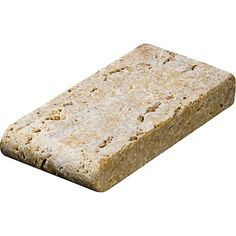 Giallo Tumbled 4x8 Pool Coping Travertine Pool Copings  $2.75/pcs