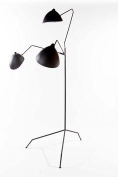 Praying Mantis Floor Lamp: Remodelista White on White (store)