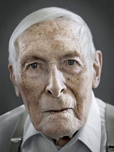 Gorgeous Portraits of Mostly Happy 100-Year-Olds, by Karsten Thormaehlen