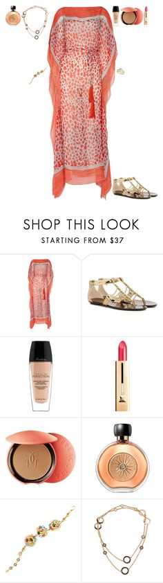"""""""BBQ IN OUR HOUSE IN CORAL GABLES"""" by stylev ❤ liked on Polyvore featuring Diane Von Furstenberg, Jimmy Choo, Guerlain, Bulgari and Allurez"""