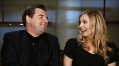 Cutest!!! Brendan Coyle and Joanne Froggatt (Mr.Bates and Anna)