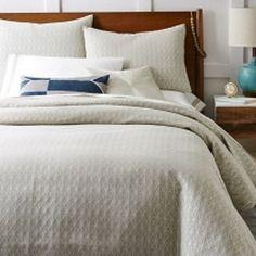 Painterly Diamond Jacquard Duvet Cover + Pillowcases
