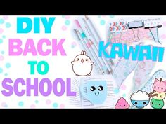 DIY Back to School * Канцелярия в стиле Kawaii * КОНКУРС !!! *Bubenitta - YouTube