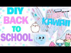 DIY Back to School * Канцелярия в стиле Kawaii * КОНКУРС !!! *Bubenitta - YouTube