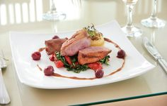 The hotel offers a stunning array of culinary delights from our award winning chef's. Hotel Spa, Steak, Yummy Food, Restaurant, Delicious Food, Diner Restaurant, Steaks, Restaurants, Supper Club