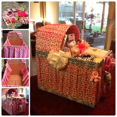 Baby shower gift idea. This gift is always a big hit at any baby shower I have brought it to. Specially created for each expectant mother.