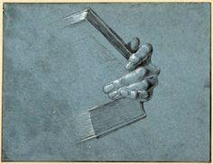 """""""Hand with Book"""", 1506, Albrecht Dürer."""