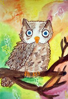 4th grade - watercolor