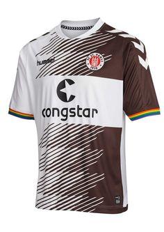Pauli T-Shirt Love St.Pauli Hate Racism Out of print Neu St