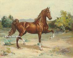 'Scottsdale Saddlebred' | Art by WoodSong