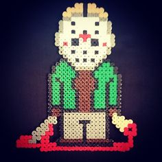Jason Voorhees - Friday the 13th hama beads by s_mcmlxxxv
