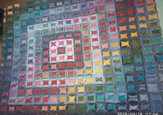the storm there is a rainbow After The Storm, Upcycle, Rainbow, Quilts, Blanket, Denim, Rain Bow, Rainbows, Upcycling
