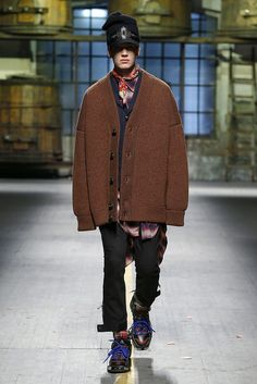 Dsquared2 Fall 2017 Menswear Collection - Fashion Unfiltered