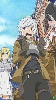 120 Danmachi Ideas Dungeon Ni Deai Danmachi Anime Dungeon Ni