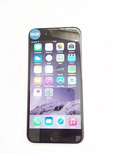 nice APPLE iPHONE 6 4.7-INCH DISPLAY O2 TESCO GIFF GAFF NETWORK (16GB, SPACE GREY)