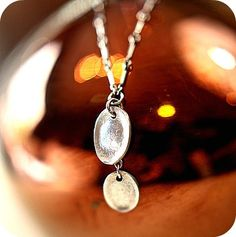 I love these pieces of jewelry with your children's fingerprints.